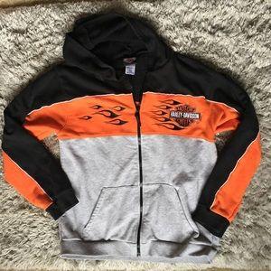 Harley Davidson Full Zip (16-18) Jacket